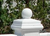 Крышки верхние с шаром тип 1